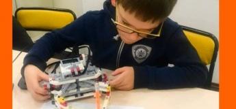Пробный урок по робототехнике в студии Техно-Kids