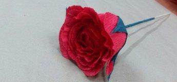 Майстер-клас з виготовлення троянди!