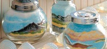 Майстер-клас зі створення пісочних картин в пляшках