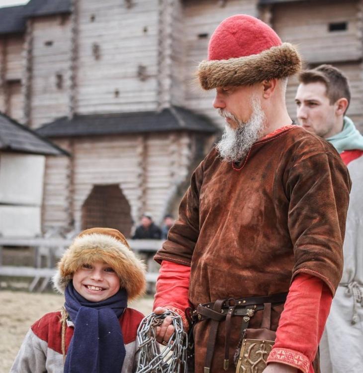 «Парк Київська Русь» кличе у «Світ дитинства»
