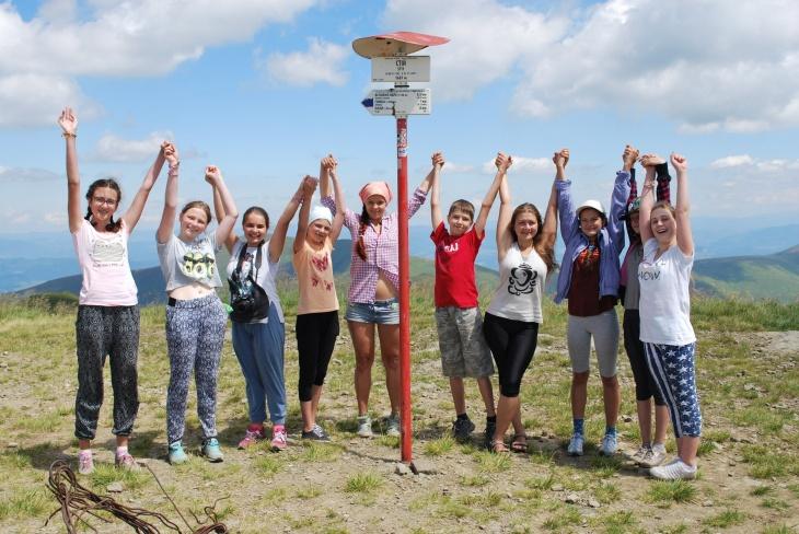 Літній табір для дітей в Карпатах