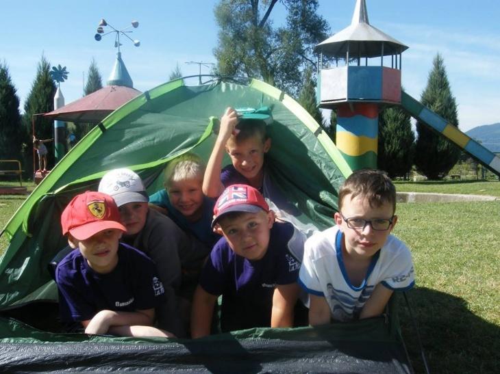 Карпатський табір для учнів 1-7 класів