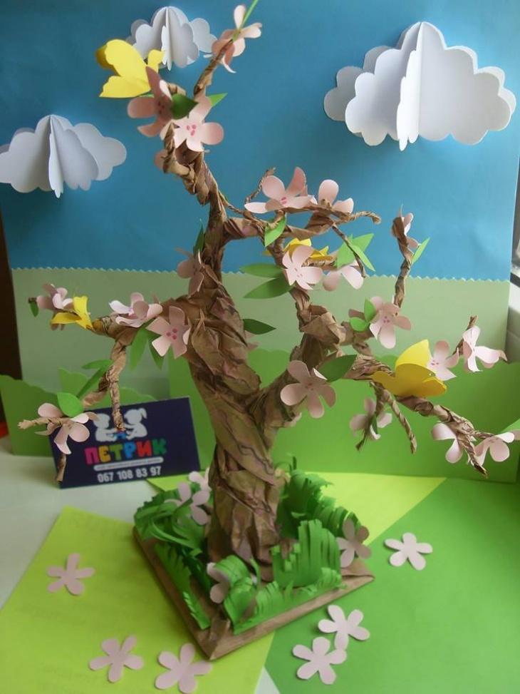 """Просторова скульптура """"Весна прийшла!"""""""