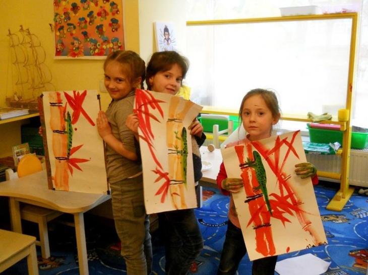 Приглашаем юных художников на мастер-класс по живописи У-Син «Обаяшка Кролик»!