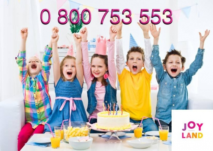 День Захисту Дітей у Joy Land. Знижка на вхід -50%