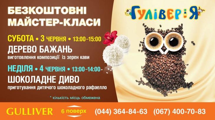 Солодко-кавові майстер-класи