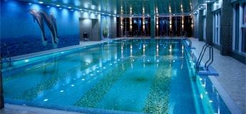 Крытый бассейн с минеральной водой