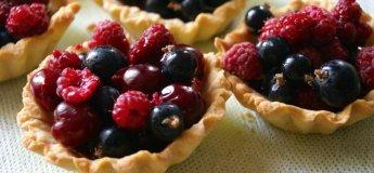 Виготовлення фруктових корзинок з пісочного тіста