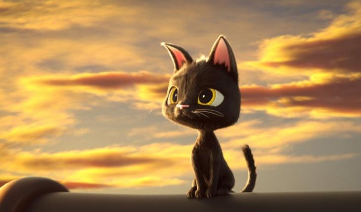 """Мультфільм """"Жив був кіт"""""""