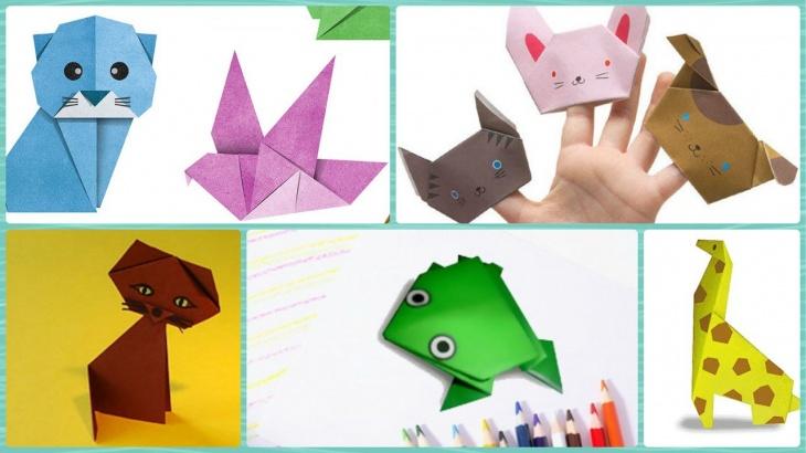 """Мастер-класс оригами """"Забавные зверюшки"""" в детском клубе """"Мишуткины классики"""""""