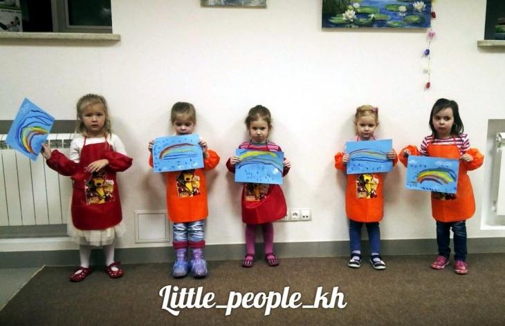 Набор в группы по рисованию в детском развивающем центре «Little People»