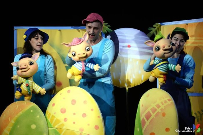 "Вистава ""Троє поросят"" в рамках фестивалю ""Puppet UP!"""