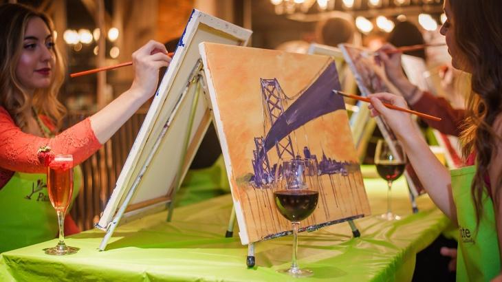 Картина за 4 години (живопис і вино)