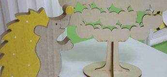 """Майстер-клас для дітей """"Дерев'яний декор"""" в Навчальному центрі """"Puzzle"""""""