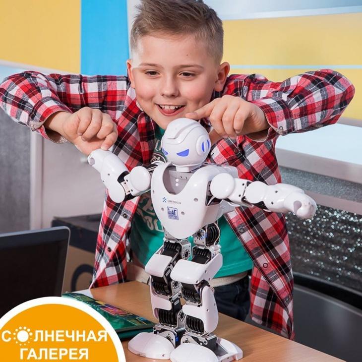 Мастер-класс для детей по робототехнике