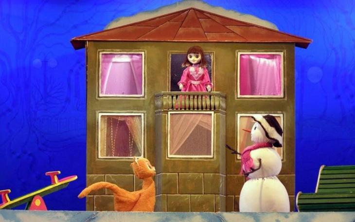 Новорічна історія «Кошеня на снігу»