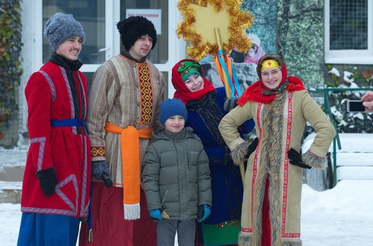Рождество в Фельдман Экопарк