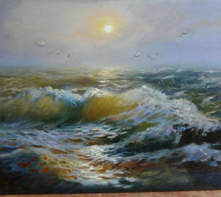 Відкриття виставки живопису Людмили Макаренко «Гармонія радості»