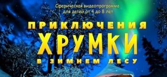 """Увлекательное видеошоу """"Приключения Хрумки в зимнем лесу"""""""