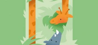 """Вистава """"Жирафа і носоріг"""""""