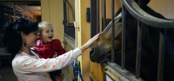В гості до веселих поні та добрих коней. Екскурсія в поні-клуб