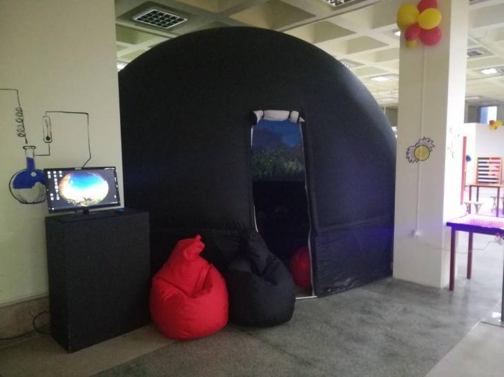 Відкриття планетарію з розважальною програмою