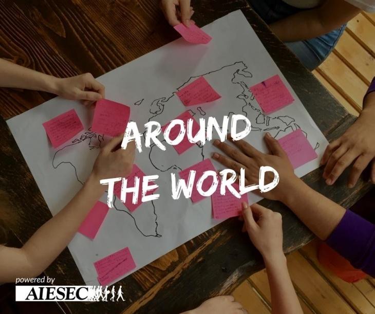 Around the world in 1 hour