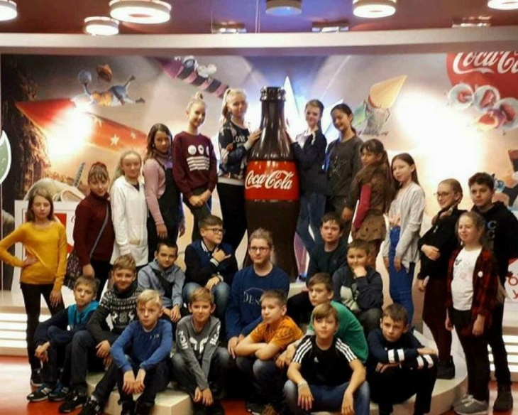 Безкоштовна екскурсія для школярів на завод Coca-Cola