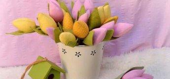 Майстер-клас із виготовлення тюльпанів