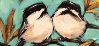 """Майстер-клас із живопису """"Пташки повернулись"""""""
