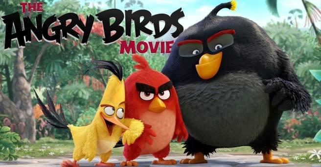 """Дитяче свято з Angry Birds в """"Планеті Кіно"""""""