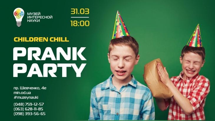 Children Chill Prank Party