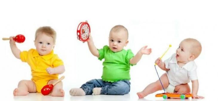 Розвиваючі заняття для діток 1-2 років