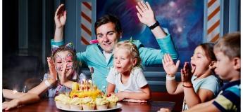 """Космічний День народження у парку розваг """"Планета"""""""