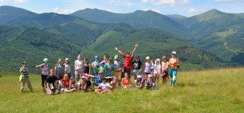 Табір для дітей та батьків у Карпатах: гори чудес!