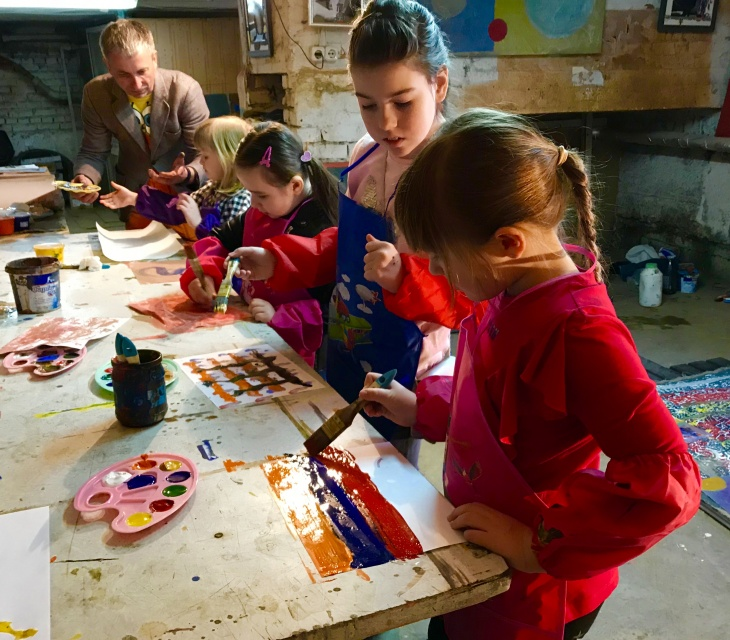 Уроки абстрактного живопису