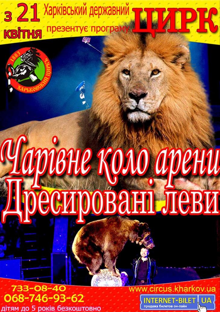 """Программа Харьковского цирка """"Волшебный круг арены"""""""