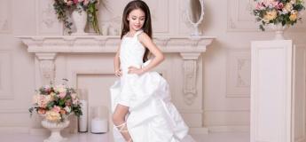 Новая коллекцию детских авторских вечерних платьев