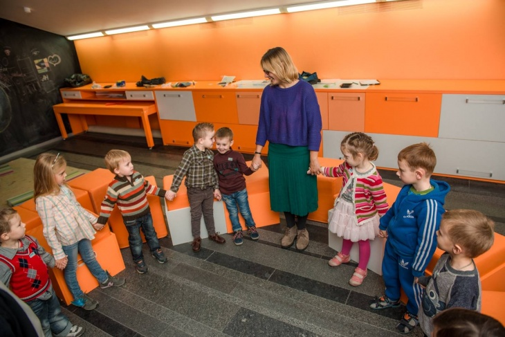 Дитячі заняття у PinchukArtCentre