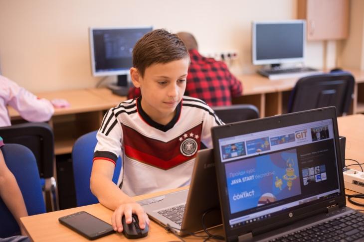 Літній табір в Дитячій IT Академії CONTACT