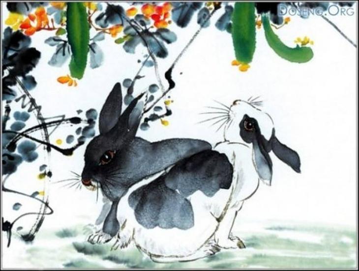 """У-Син - мастер-класс по китайской живописи """"Кролик"""""""