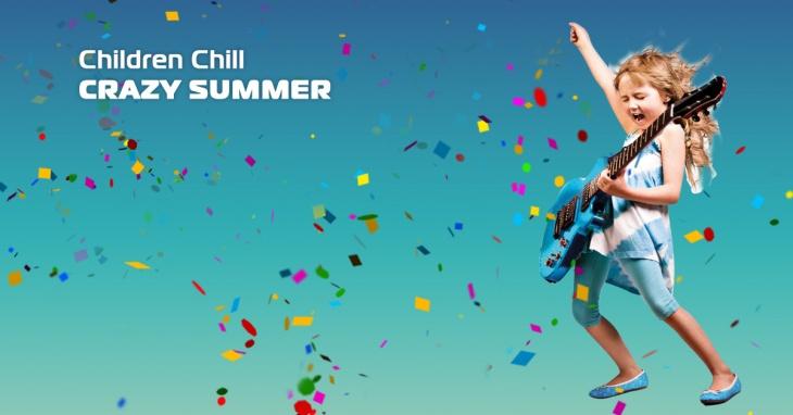 Летняя вечеринка Children Chill Crazy Summer