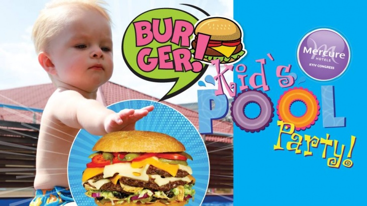 Burger Kid's Pool Party