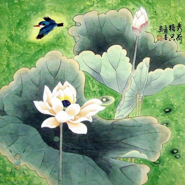 Семейный МК по восточной живописи У-Син - ЛОТОС