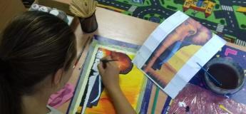 Майстер-клас з живопису для дітей від 6 років