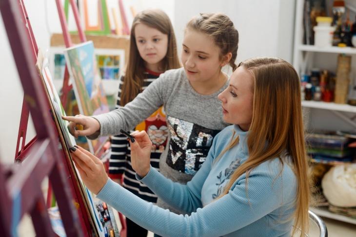"""Курс для дітей """" Всі грані мистецтва. Креативний практикум"""""""