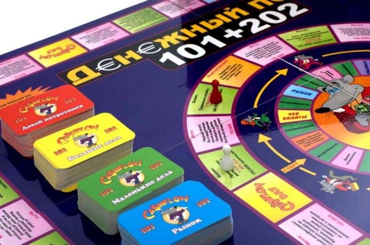 Гра для підлітків Cashflow
