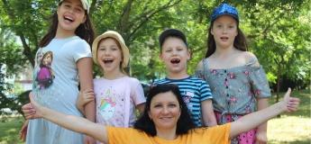 """Дневной  осенний лагерь c """"Kids Family"""". NON STOP"""