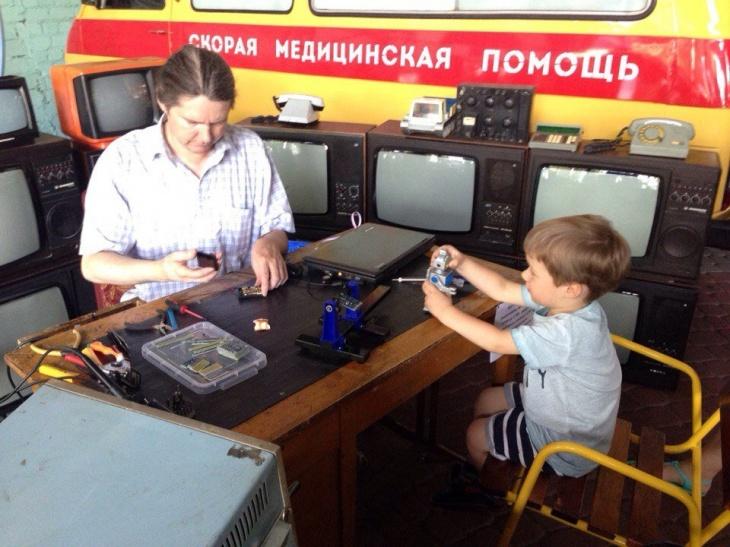 Июльские мастер-классы в Музее ретро-машин