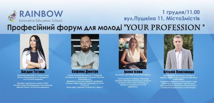 Професійний форум для молоді - your profession